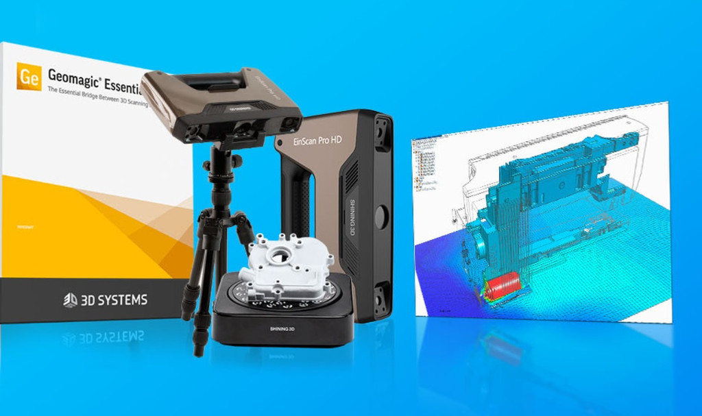 EinScan Pro 2X Plus Reverse Engineering Design Bundle