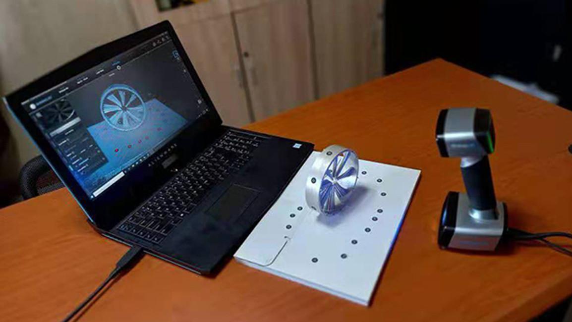 EinScan HX 3D Scanner Case Study