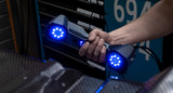 FreeScan UE 11 handheld 3D laser scanner.
