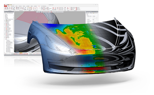 Geomagic Design X 3D Reverse Engineering Software