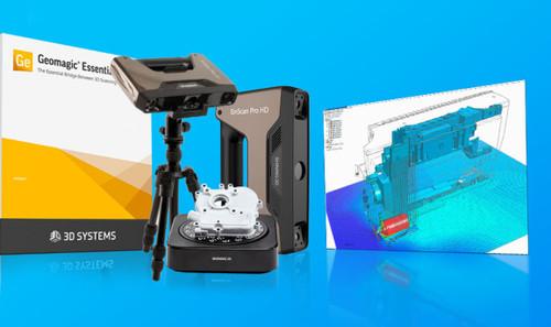 EinScan Pro HD Reverse Engineering Design Bundle
