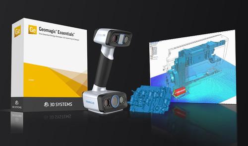 EinScan HX  Laser & LED Light Handheld 3D Scanner Bundle