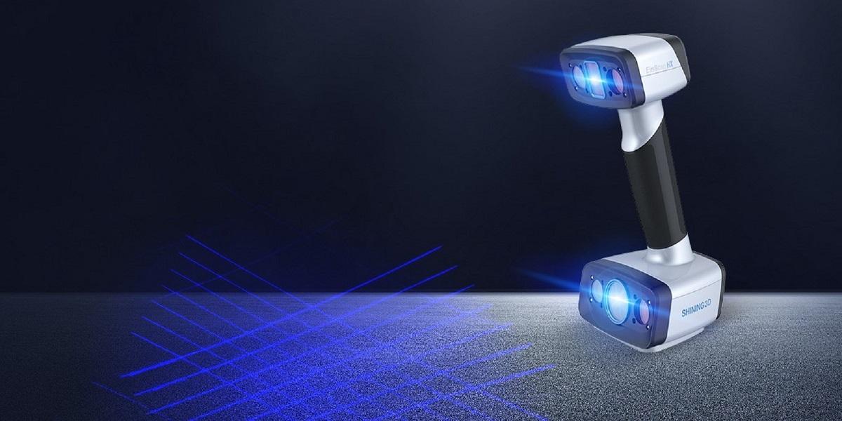 Einscan HX - Laser & LED Scanner