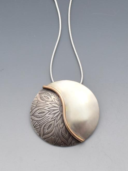 'Brigid' - Sterling Silver Mandala Pendant
