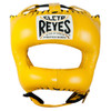 CLETO REYES HEADGUARD WITH NYLON POINTED BAR YELLOW