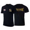 FIVE STAR T-SHIRT WITH BACK LOGO