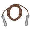 TUF WEAR 9FT ALLOY HANDLE LEATHER SKIP ROPE