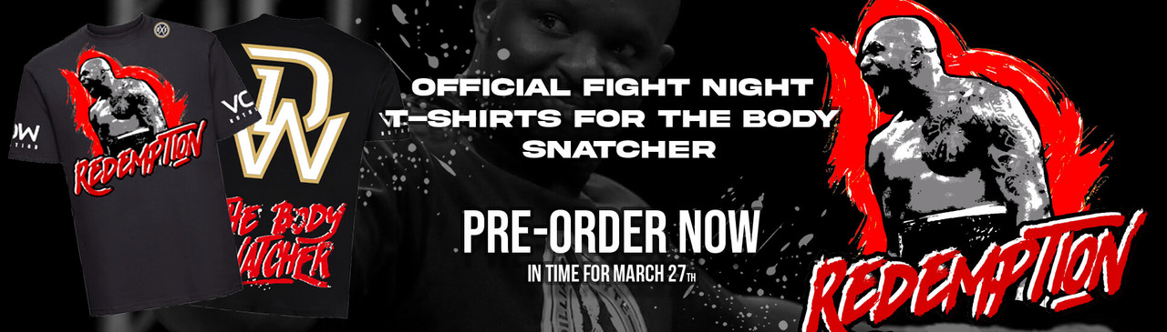 Dillian Whyte Redemption Tee