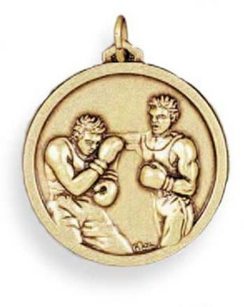 3D TWO FIGHTERS GOLD MEDAL