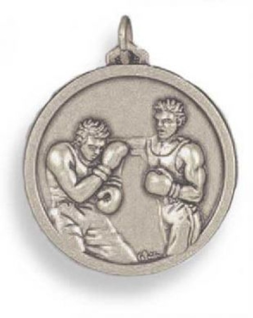 3D TWO FIGHTERS SILVER MEDAL