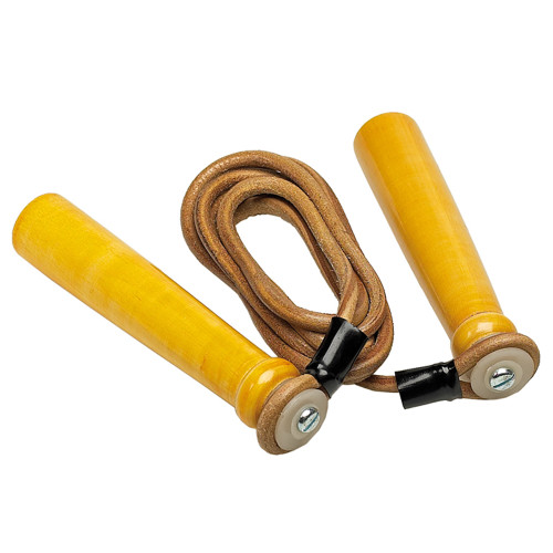 PRO BOX WOODEN HANDLE LEATHER ROPE