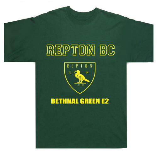 REPTON BOXING CLUB CREST TEE SHIRT