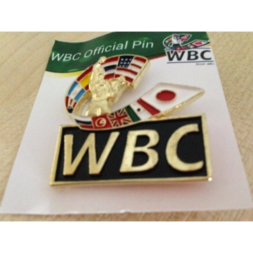 WBC GOLD COLOURED PIN