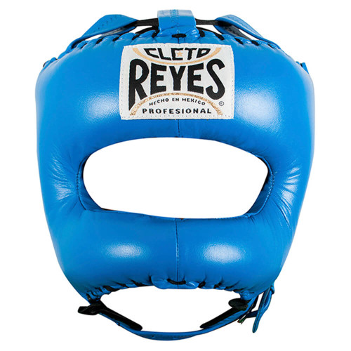 CLETO REYES HEADGUARD WITH NYLON POINTED BAR BLUE