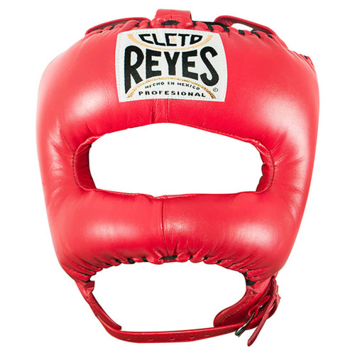 CLETO REYES HEADGUARD WITH NYLON POINTED BAR RED
