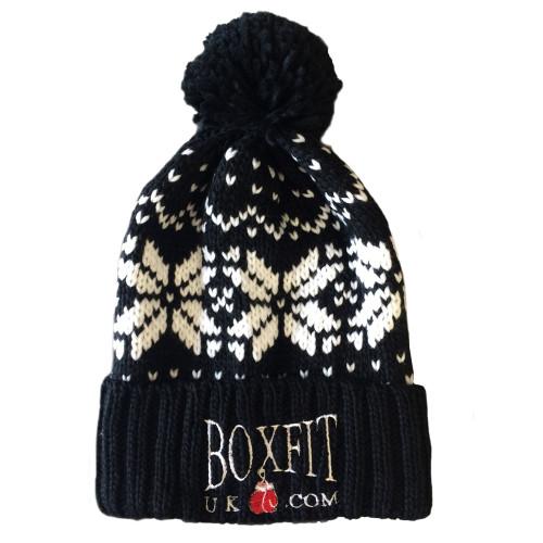 BOXFIT BOBBLE HAT