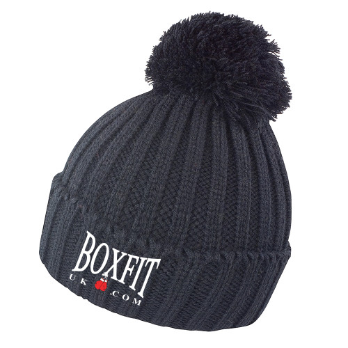 BOXFIT KNITTED BOBBLE HAT