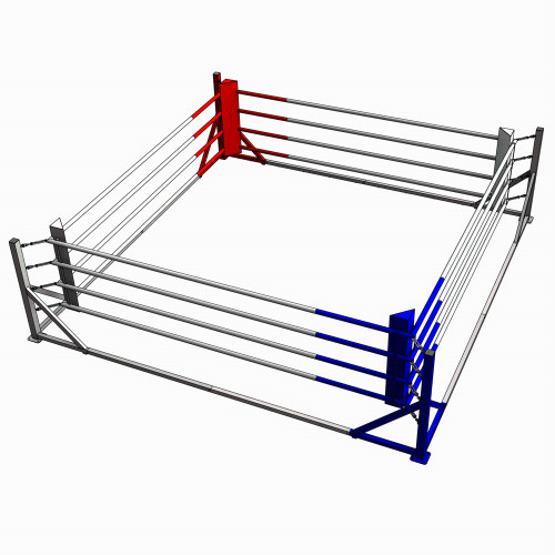 FLOOR MOUNTED 16FT BOXING RING