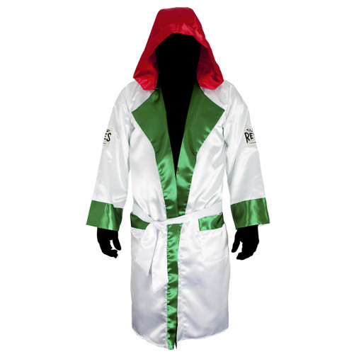 CLETO REYES ROBE WITH HOOD