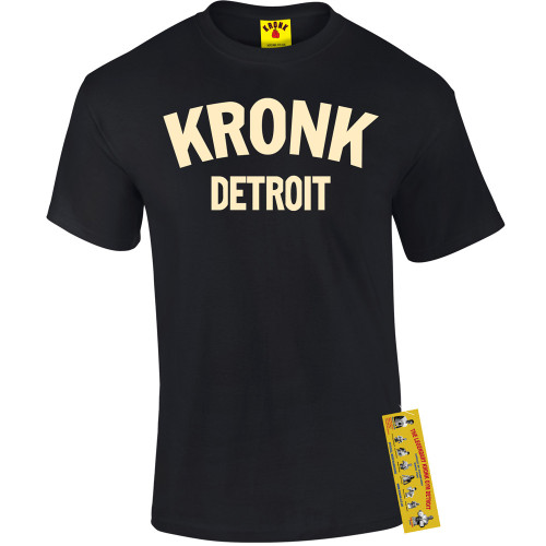 KRONK DETROIT BLACK T-SHIRT