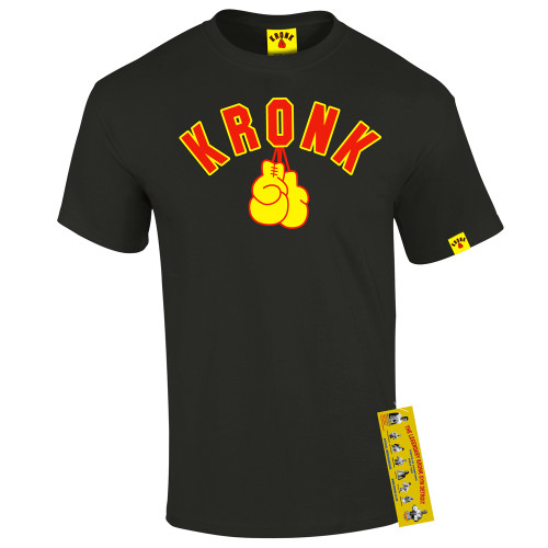 KRONK GLOVES TEE BLACK SHIRT