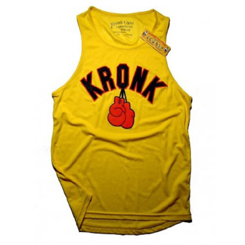 KRONK GLOVES YELLOW TRAINING VEST