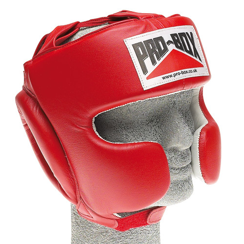 PRO BOX SUPER SPAR LEATHER HEADGUARD