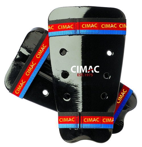 CIMAC DIPPED FOAM SHIN GUARDS - BLACK