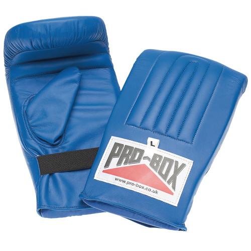 PRO BOX PRE-SHAPED PU BAG MITT