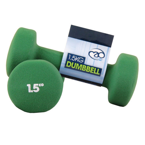 1.5KG NEOPRENE DUMBBELLS - PAIR