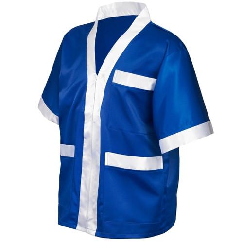 SUZI WONG CORNER JACKET BLUE