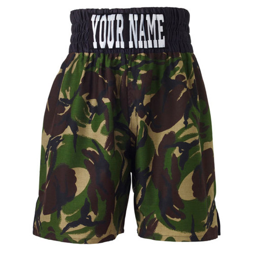 CUSTOM MADE CAMOUFLAGE BOXING SHORTS