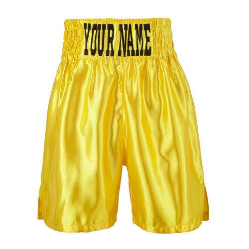 CUSTOM MADE SATIN BOXING SHORTS