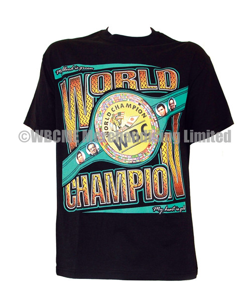 WBC WORLD CHAMPIONSHIP BELT T-SHIRT 2015