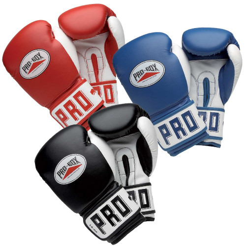 MULTI-BUY - 10 X PRO BOX ESSENTIAL PU TRAINING GLOVE