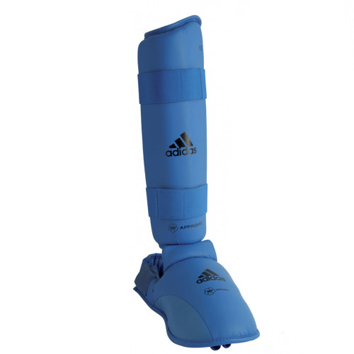 ADIDAS WKF SHIN & REMOVABLE INSTEP PADS