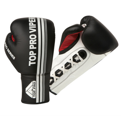 TOP PRO VIPER PRO LACE UP BOXING GLOVES