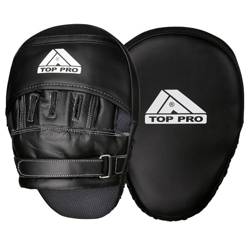 TOP PRO CURVED HEAVY PRO LEATHER FOCUS PADS