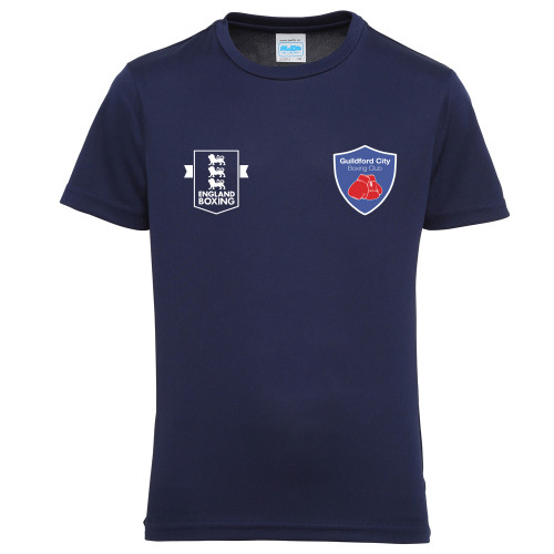 GUILDFORD CITY BOXING CLUB POLY T-SHIRT
