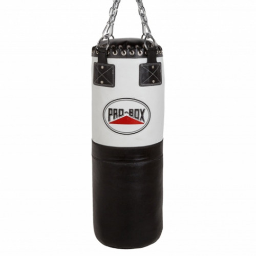 PRO BOX BLACK COLLECTION LEATHER PUNCHBAG