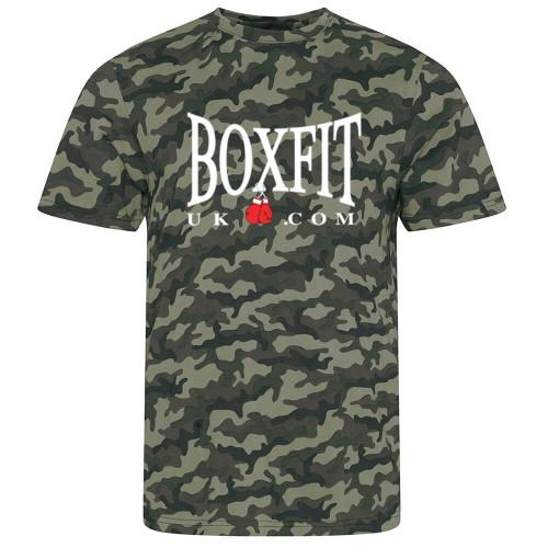 BOXFIT CAMO T-SHIRT