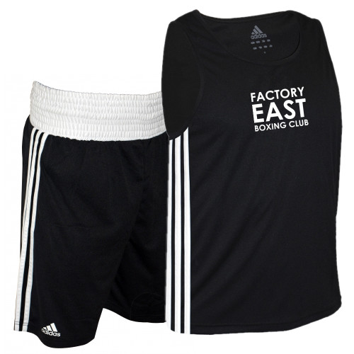 FACTORY EAST BOXING RING VEST & SHORTS
