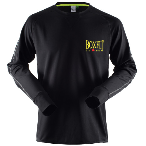 BOXFIT CREW NECK TOP