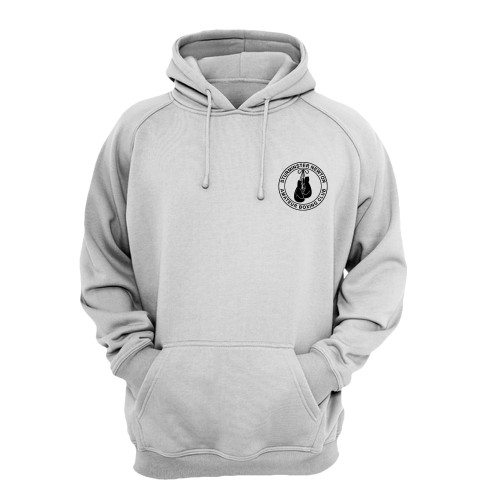 STURMINSTER NEWTON KIDS HOODIE W/TEXT ON BACK