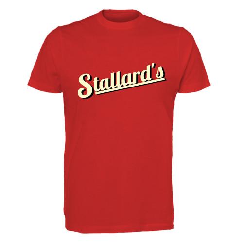 STALLARDS GYM RED T-SHIRT