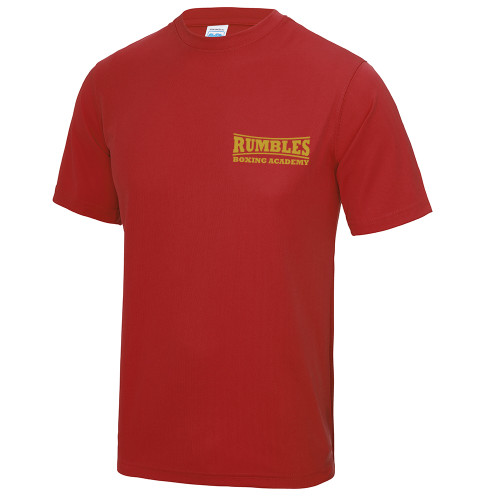 RUMBLES BOXING CLUB POLY TEE