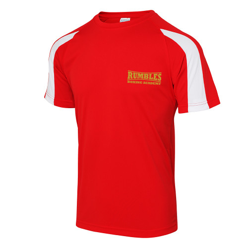 RUMBLES BOXING CLUB CONTRAST COOL TEE