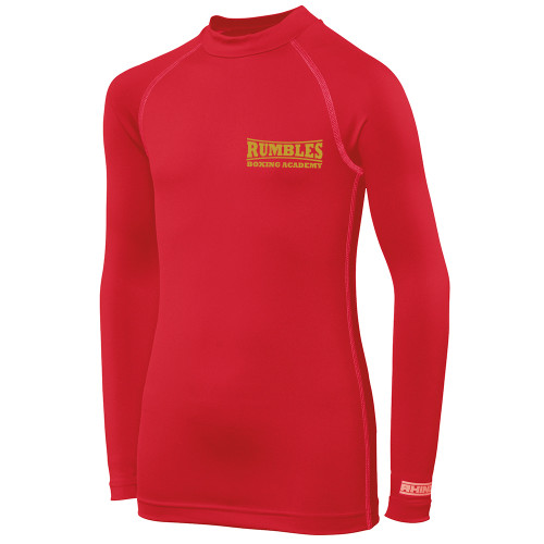RUMBLES BOXING CLUB KIDS LS BASE LAYER