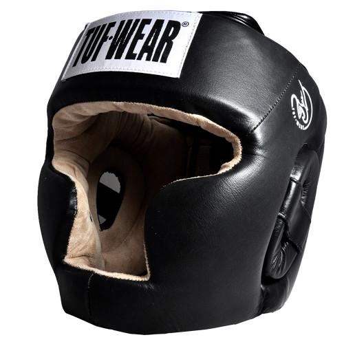 TUF WEAR LEATHER HEADGEAR FULL FACE