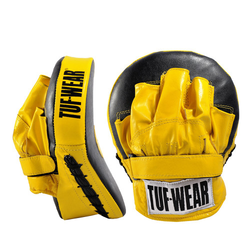 TUF WEAR CURVED FOCUS HOOK AND JAB PADWITH STRAP